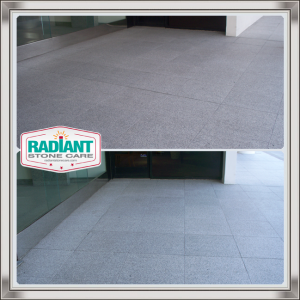 Flamed Granite-Before-n-After