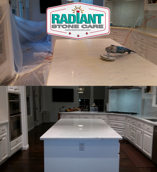 Marble Countertop Care: Before And After Photos