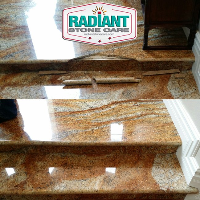 Granite Step Repair-BnA