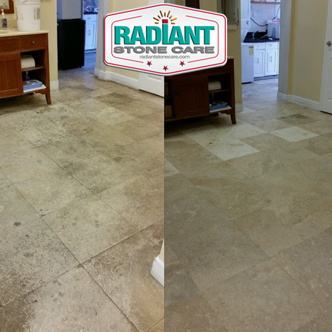 Limestone floor BnA-NEW