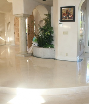 Marble floor-FINISHED