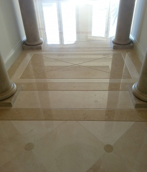 Travertine floor-01
