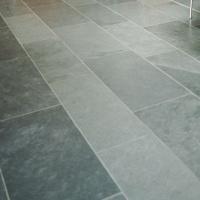 Slate grey-cut